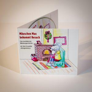 CD Mäuschen Max bekommt Besuch