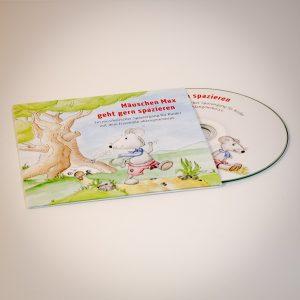 CD Mäuschen Max geht gern spazieren